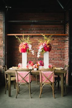 Think Pink Colorado Wedding Event from  Carrie King Photographer - wedding reception idea