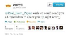 WELCOME DENNY'S AS OUR NEWEST MEMBER OF THE FANDOM.
