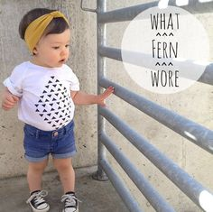 If only I could dress my future kids like this, shoot, this baby dresses better than me!: Fern's Top 25 Fashion Moments of 2013