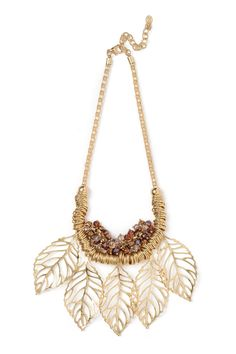 Dressing Your Truth - Type 3 Autumn Leaves Necklace