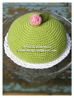 Alfiletero en ganchillo  -  pincushion crochet