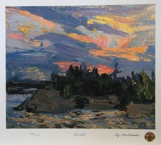 Tom Thomson Sunset