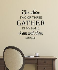 Another great find on #zulily! 'I am With Them' Wall Quotes™ Decal #zulilyfinds