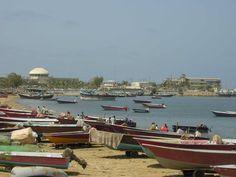 Fishing Boats in Chabahar, Persian Gulf