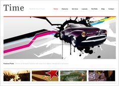 厳選!驚くほどデザイン性の高い無料のブログテンプレート55個 | バズ部