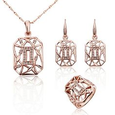 Virgin Shine 18K Gold Plated Rhinestones Square Full Jewelry Sets VIRGIN SHINE http://www.amazon.co.uk/dp/B00LDU3B02/ref=cm_sw_r_pi_dp_HYrNub0RMF9AF