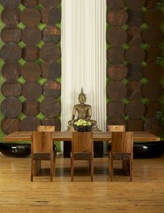 Phillips Collection - Gallery green home deco Asian Interior Design, Asian Design, Green Home Decor, Asian Home Decor, Thai Design, E Design, Design Ideas, Design Inspiration, Recycled Home Decor