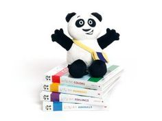 Multilingual { French, Spanish and English } books by Little Pim. Expose your kids to languages with these board books.