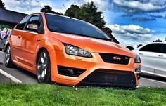 Focus st 225 pfl electric orange Ford Rs, Ford Escort, Mk1, Ford Focus, Electric, Cars And Motorcycles, Orange, Vehicles, Passion