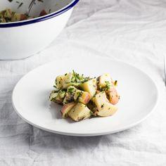 fresh herbs potato salad plate potatoes salads forwards herb potato ...