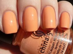 China Glaze Peachy Keen (Up & Away Collection 2010)