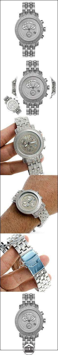 Joe Rodeo para hombre reloj de diamante - de hombre de estilo clásico 3,75 de quilate  ✿ Relojes para hombre - (Lujo) ✿
