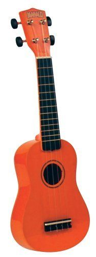 Mahalo U-30OR Painted Economy Soprano Ukulele (Orange) by Mahalo. $29.69. Amazon.com                 Perfect for those who prefer the guitar-style geared tuners on their ukulele, this affordable, soprano-sized Mahalo U-30OR ukulele offers a maple body that's stained orange, and its fingerboard and bridge are also constructed of maple but stained ebony black. It's complemented by polished brass frets and smooth and accurate, nickel-plated guitar style tuners (14...