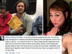 Hillary Clinton to Trans Woman Attacked on Subway: I'm on Your Side (Video)