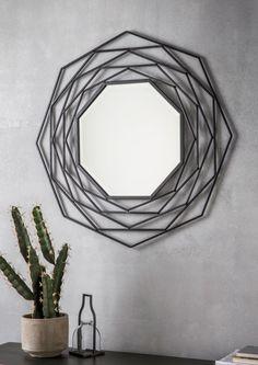 Geometric Mirror - Lime Lace Interiors