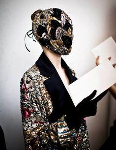 Maison Martin Margiela Autumn-Winter 2013 'Artisanal' Haute Couture. © Maison Martin Margiela / Edouard Caupeil