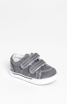 Sperry Top-Sider® Kids 'Halyard' Crib Shoe (Baby) available at #Nordstrom