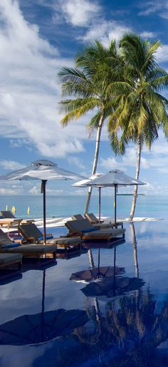 Conrad Maldives Rangali Resort. I can see myself just sitting here ....