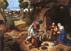 sheppards in bible art | Adoration of the Shepherds
