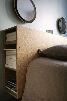 La chambre à coucher est un lieu à part dans l'appartement, car considérée comme un espace d'intimité, un espace privé, dédié au repos. Le plan, le décor d