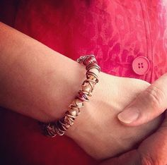 The Beading Gem's Journal: How to Coil and Wire Wrap an Easy Bangle Tutorial
