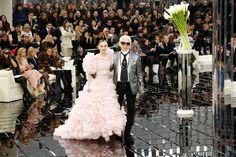 The 17 year-old daughter of Johnny Depp and Vanessa Paradis beat out Kendall Jenner and Bella Hadid for the coveted closing spot in Chanel's Spring 2017 Haute Couture show.