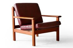 Poul Volther Poul Volther 390 Frem Rjle Teak Easy Chair Danish Modern