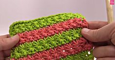 The Star Stitch Gives Instant Detail To Any Project! Learn How To Make It Here.