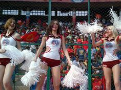 #IPL 2012: #Cheerleaders bowled over by #IndianCulture--New Delhi: April 12, 2012 Back home, they are bankers, school teachers or dancers. But many young women have come to India from foreign shores like Ukraine, Russia, Belgium and Norway as cheerleaders for the Indian Premier League (IPL), attracted not by the money but by the country's culture and tradition.