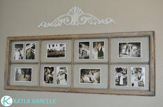 Old Window Picture Frames | Kayla Danelle