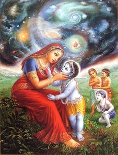Lord Krishna is adored by children and grown-ups alike in India. Here are 10 childhood stories of Sri Krishna that children will love listening to. Lord Krishna Images, Radha Krishna Pictures, Radha Krishna Photo, Krishna Art, Krishna Book, Hare Krishna, Krishna Lila, Krishna Janmashtami, Yashoda Krishna