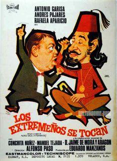 Los extremeños se toca 1970, con Andrés Pajares, Rafaela Aparicio, Antonio Garisa, Jaime De Mora y Aragón