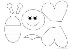 Best 11 9 Remarkable Foam Craft Ideas For Adults And Kids – SkillOfKing. Bug Crafts, Foam Crafts, Preschool Crafts, Easter Crafts, Arts And Crafts, Bee Template, Bee Art, Bee Theme, Felt Patterns