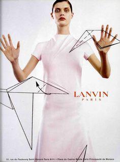 Lanvin Fall '99 // Malgosia Bela