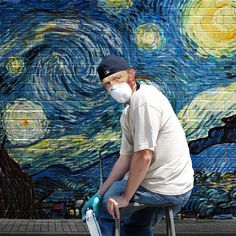 Street Art (Van Gogh) Art Print by mehmetgeren Vincent Van Gogh, Van Gogh Art, Art Van, Pop Art, Van Gogh Tattoo, Classical Art Memes, Street Art London, Most Famous Paintings, Photocollage