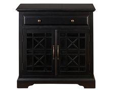 Craftsman Black Accent Cabinet