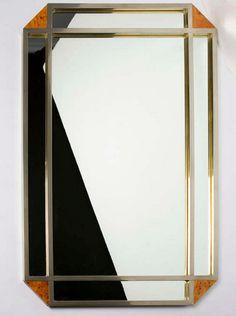 mixed metal mirror