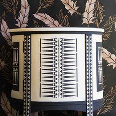 Raven+Lily Stencil Collection | Royal Design Studio Stencils | Tribal Furniture Stencil