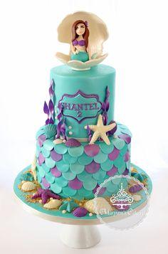 475 Best Mermaid Cakes Not Ariel Images Mermaid Cakes Bakken