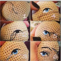 Mesmerizing Crochet an Amigurumi Rabbit Ideas. Lovely Crochet an Amigurumi Rabbit Ideas. Crochet Tutorial, Amigurumi Tutorial, Crochet Amigurumi, Amigurumi Patterns, Amigurumi Doll, Doll Patterns, Crochet Design, Knitting Patterns, Crochet Dolls