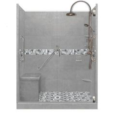 Freedom Collection Newport Alcove Shower Kit - American Bath Factory