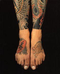 Legs Japanese tattoo, traditional Japanese tattoo style ideas