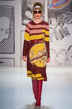 I don't even know why I like this! Tsumori Chisato - Fall 2015 Ready-to-Wear - Look 33 of 43