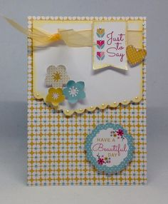 Card created using Daisy, Ditsy and Dotty Project kit, by Julie Hickey www.craftworkcards.com
