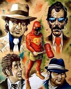 Greatest hero of Latin America! All hail El Chapulin Colorado! is part of Cartoon art - 41 points Cartoon Kunst, Cartoon Art, Digital Foto, D Mark, Mexican Art, High Level, Anime Comics, Chicano, Best Funny Pictures