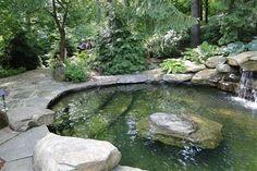 a pool that looks like a pond? in my backyard, please =)