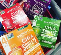 Mamma Chia Organic Chia Squeeze - Available at Target!