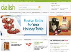 Delish - One of the most comprehensive cooking & recipe sites I've seen in a while, MSN's Delish is truly a one-stop place for all your cooking, party hosting New Recipes, Cooking Recipes, Cooking Websites, Recipe Sites, Recipe Search, Host A Party, Food Blogs, Food Menu, Delish