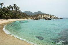 Relaxing at Cabo San Juan Beach - Tayrona National Park, Colombia