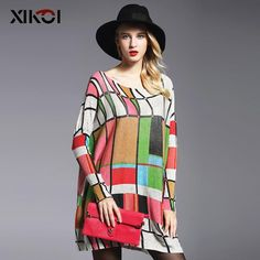 Autumn Long Print Women's Sweaters Fashion Pullover Clothing $79.63 => Save up to 60% and Free Shipping => Order Now! #fashion #woman #shop #diy www.clothesworld....